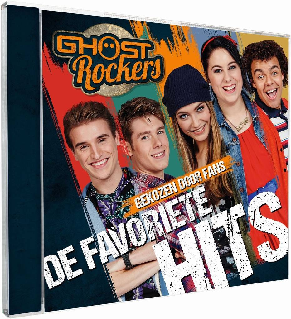 Cd Ghost Rockers: favoriete hits