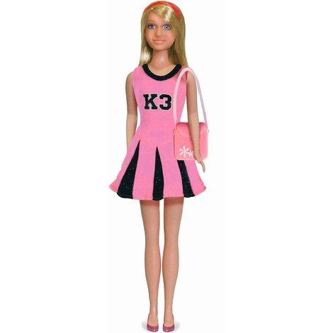 Vêtements pour pourpée K3 - tenue de pom-pom girl rose