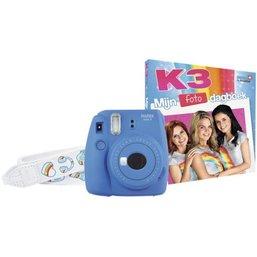 Fototoestel Instax Mini 9 K3 Fujifilm: blauw
