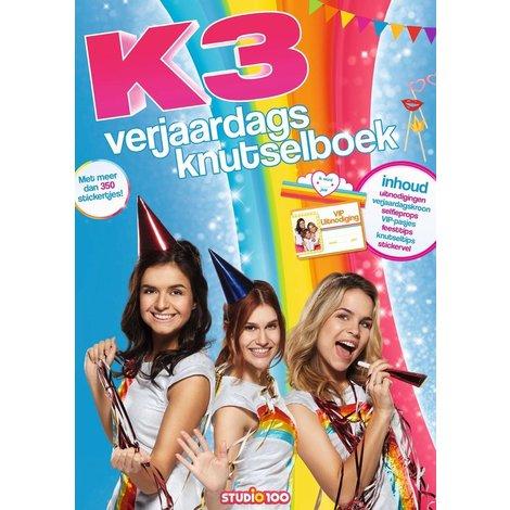 K3 Doeboek - Verjaardagskuntselboek