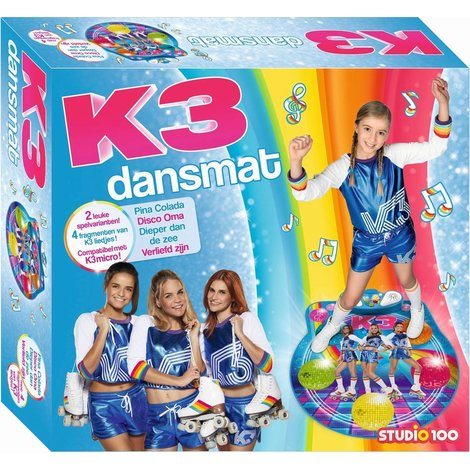 Dansmat K3 rollerdisco