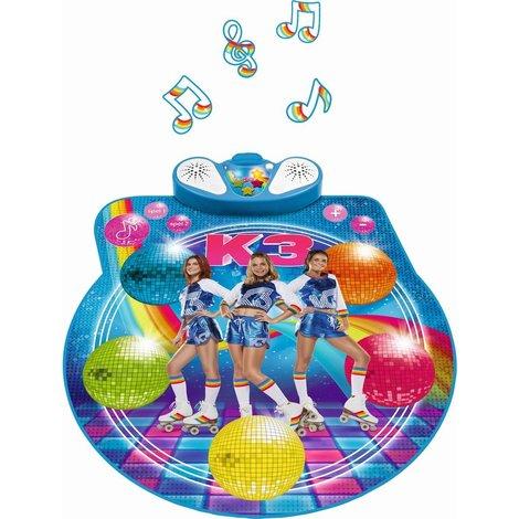 Dansmat K3: rollerdisco