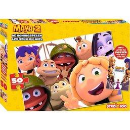 Puzzel Maya met poster 50 stukjes