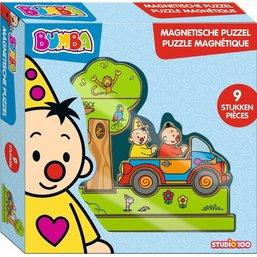 Puzzel Bumba 3d magnetisch: 9 stukjes