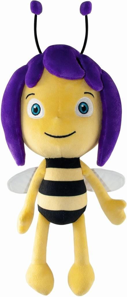 Peluche Maya l'abeille - Violet, 30 cm