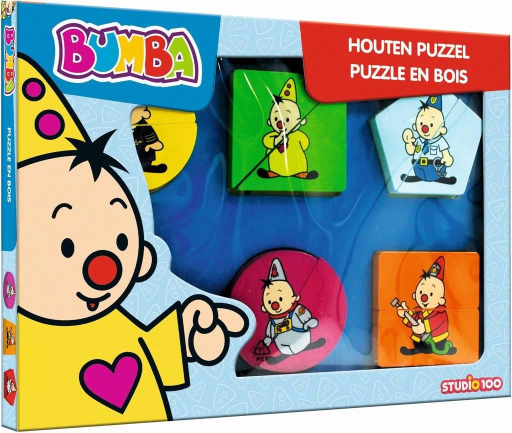 Puzzel Bumba hout 12 stukjes