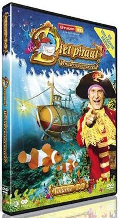 Piet Piraat DVD - Wonderwaterwereld