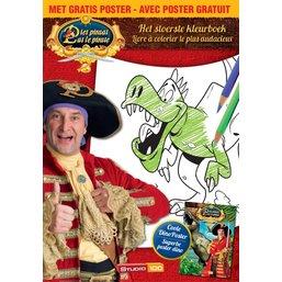 Livre a colorier et affiche Pat le Pirate