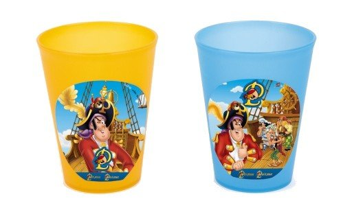 Lot de 2 gobelets Pat le Pirate