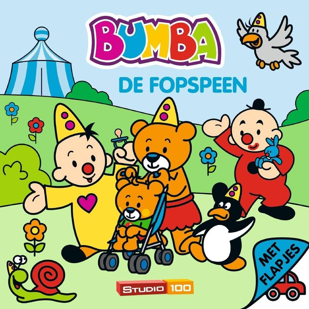 Bumba boek flapjes- de fopspeen