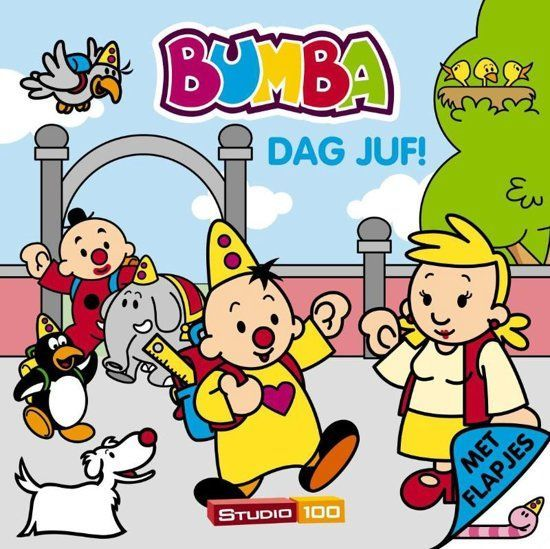Bumba Boek flapjes - Dag juf