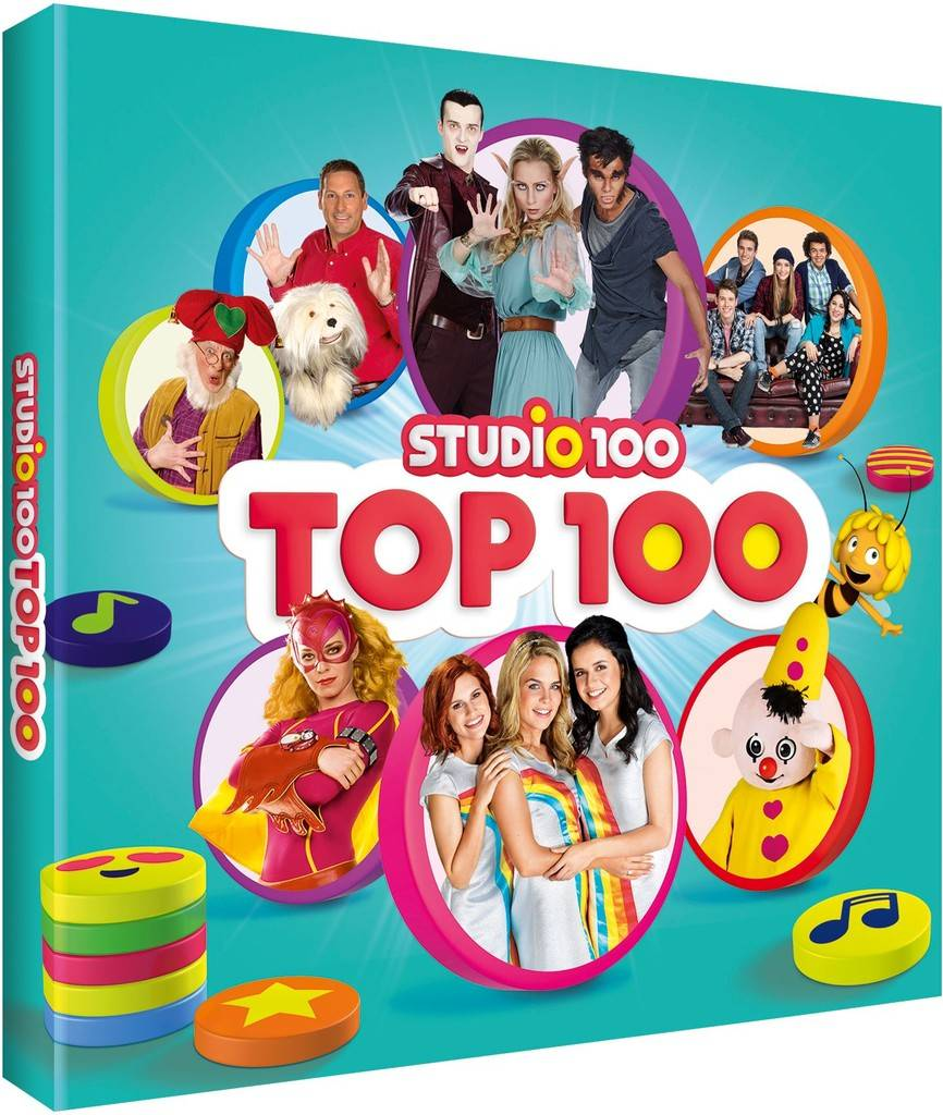 Cd Studio 100: Top 100 Studio 100