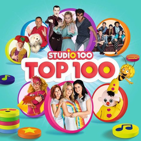 Studio 100 CD BOX 5-delig - Top 100 van Studio 100