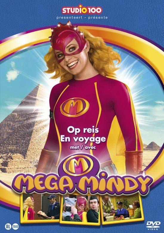 Dvd Mega Mindy: op reis met Mega Mindy