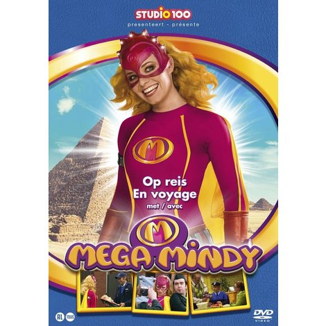 Mega Mindy DVD - Op reis met Mega Mindy