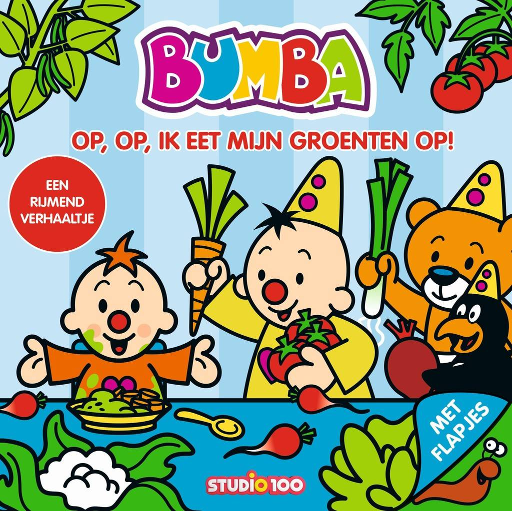 Boek Bumba: ik eet groente