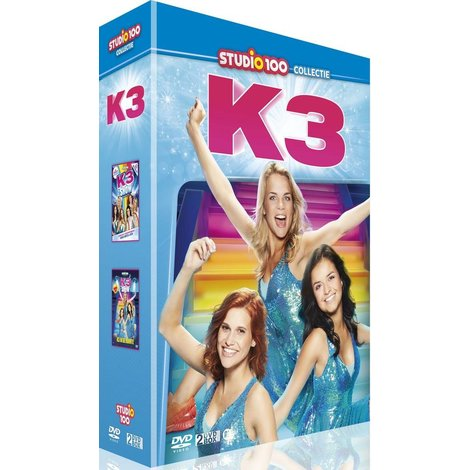 Dvd box K3: K3 loves you/K3 in de ruimte