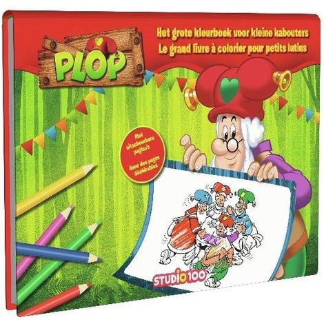 Kleurboek Plop Groot kleurboek
