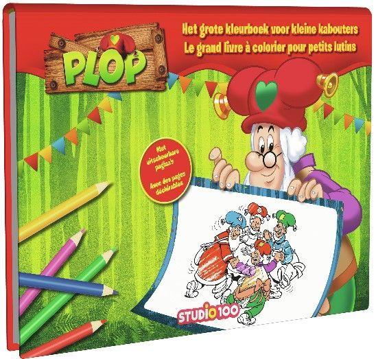 Kleurboek Plop: Groot kleurboek