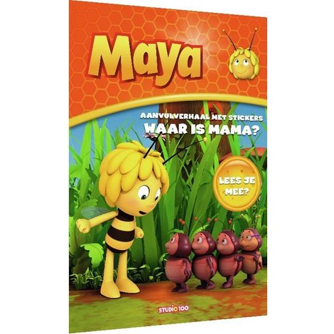 Stickerboek Maya