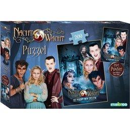 Puzzel Nachtwacht met poster 250 stukjes