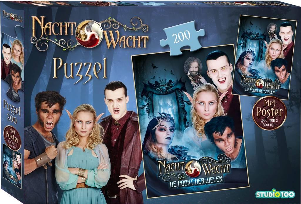 Puzzel Nachtwacht met poster: 150 stukjes