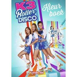 Kleurboek K3 rollerdisco