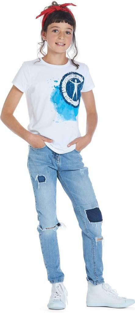 T-shirt en bandana meisjes Campus 12