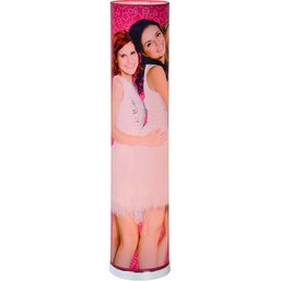 Vloerlamp K3 roze: 110x19 cm