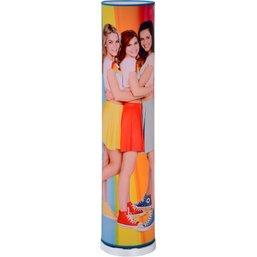 Vloerlamp K3 regenboog: 110x19 cm