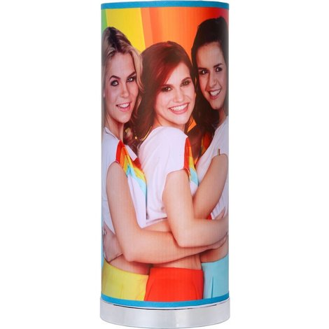 Tafellamp K3 regenboog: 36x15 cm