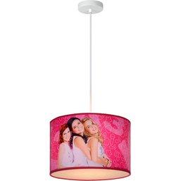 Hanglamp K3 roze: 30x20 cm