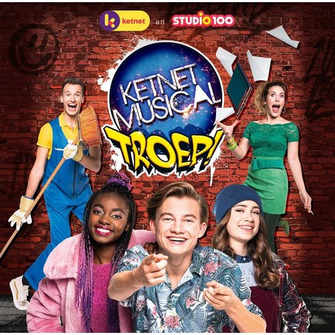 Cd Studio 100: Ketnet musical - Troep