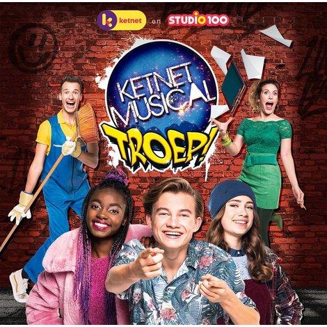 Studio 100 CD - Ketnet musical Troep
