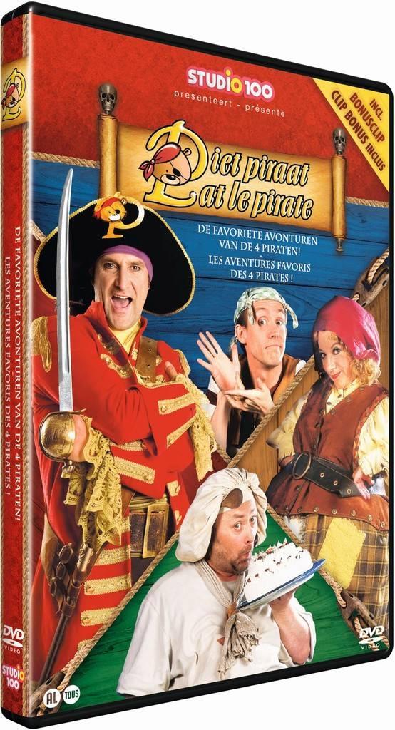 Pat le pirate DVD - Les aventures favoris des pirates