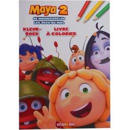 Kleurboek Maya De honingspelen