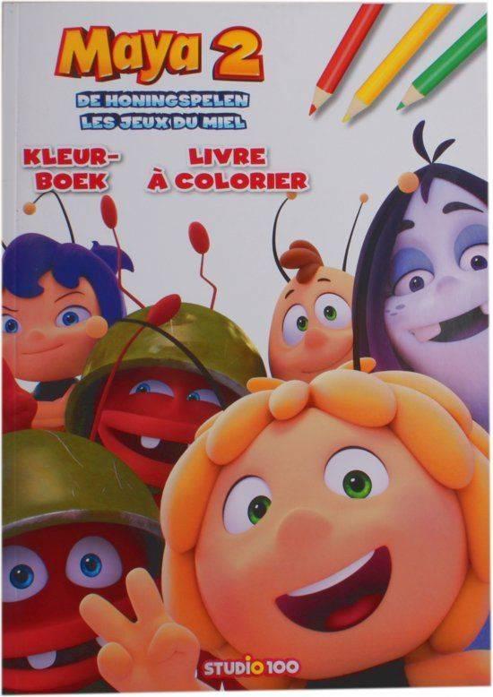 Kleurboek Maya: De honingspelen