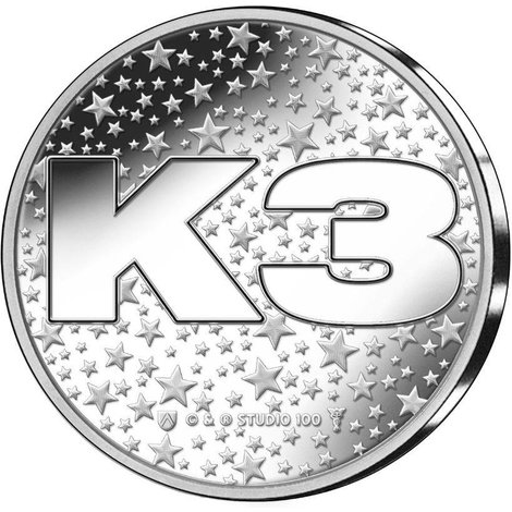Penning K3 in coincard