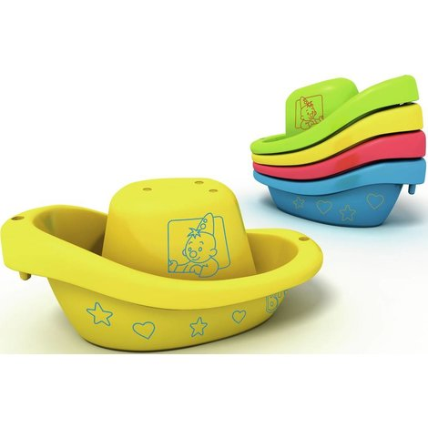 Bumba : bateau de bain (8pcs)