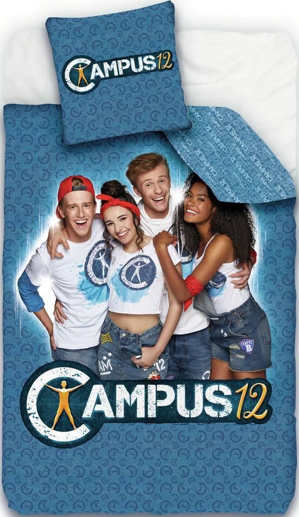 Dekbed Campus 12: 140x200 cm/65x65 cm