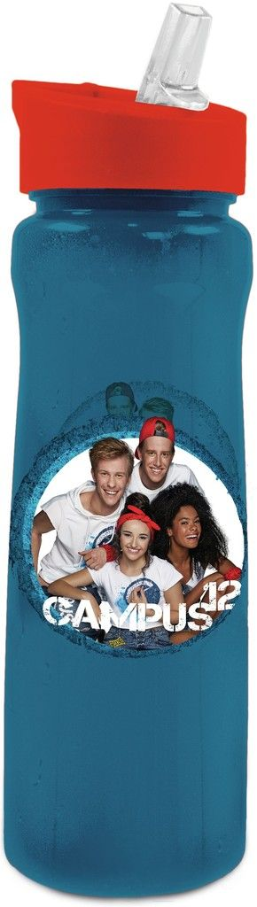 Drinkfles Campus 12 blauw