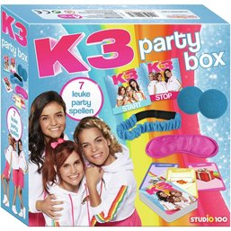 K3 Party kit - 7 leuke party spellen