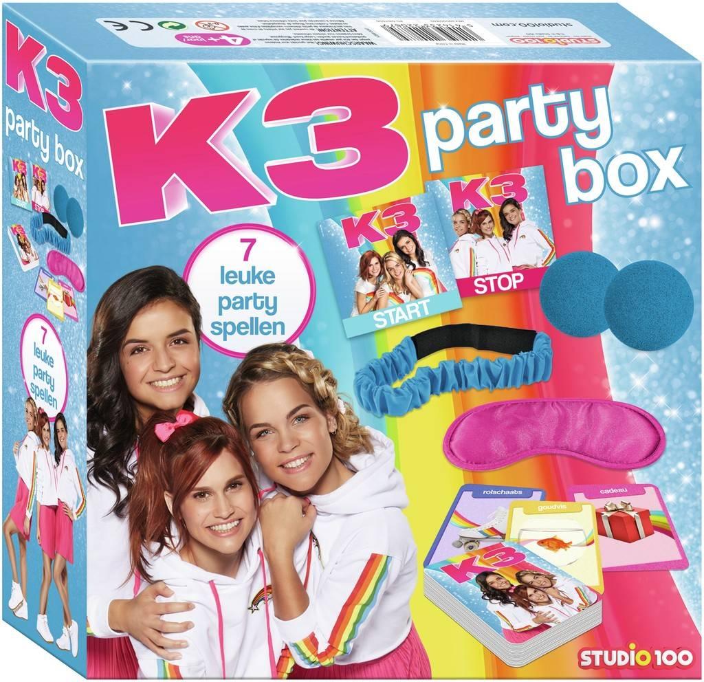 K3 Party kit - 7 leuke party spellen