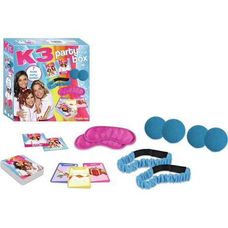 Party kit K3: 7 leuke party spellen