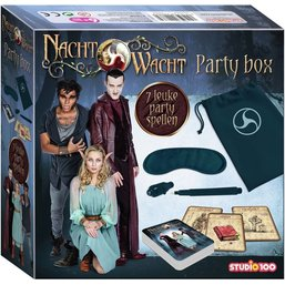 Nachtwacht Party kit - 7 leuke party spellen