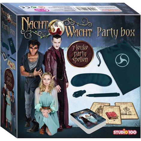 Nachtwacht Party kit - 7 leuke party spellen
