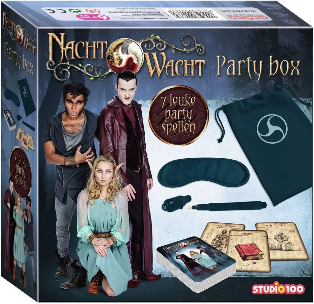 Party kit Nachtwacht: 7 leuke party spellen