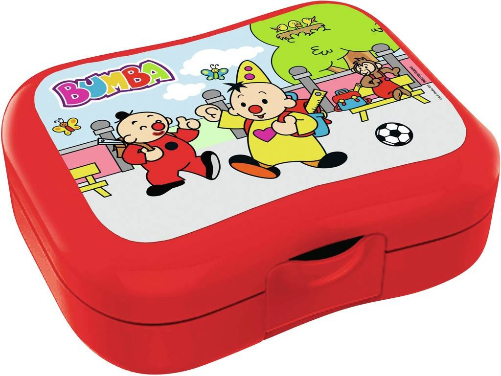 Bumba Lunchbox - Rood