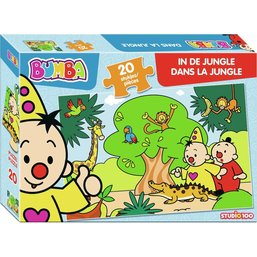 Puzzel Bumba in de jungle: 20 stukjes