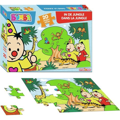 Bumba puzzle: Dans la Jungle 20 pcs